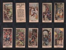 Trade Cigarette cards Famous Escapes 1937 by Mars